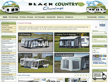 Tablet Preview of blackcountryawnings.co.uk